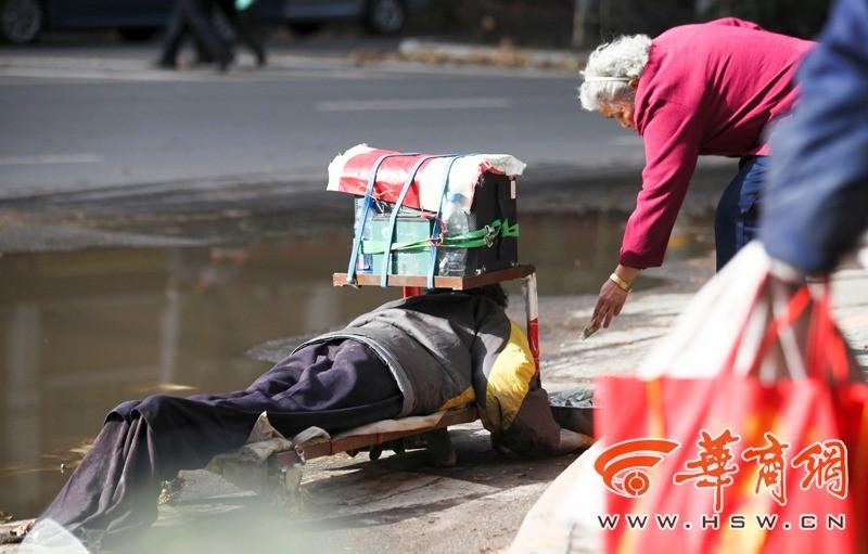 Fake Сrippled In China