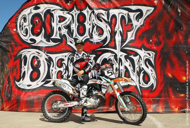 Australian Motorcross rider and member of the Crusty Demons, Robbie Marshall