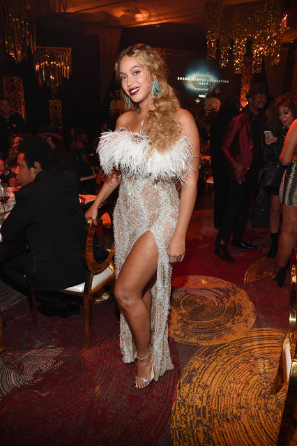 Beyonce attends the Shawn Carter Foundation Gala at the Seminole Ballroom in the Seminole Hard Rock Hotel & Casino on November 16, 2019 in Hollywood, Florida. (Photo by Kevin Mazur/Getty Images for Shawn Carter Foundation)