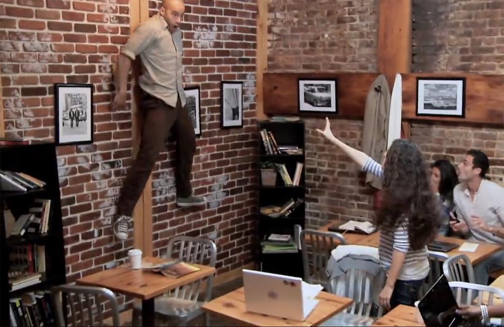 Telekinetic Coffee Shop Surprise Video