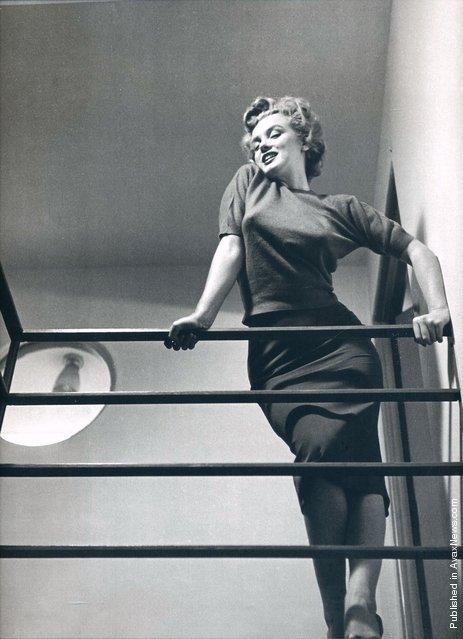 American actress Marilyn Monroe. USA, Hollywood, California, 1952