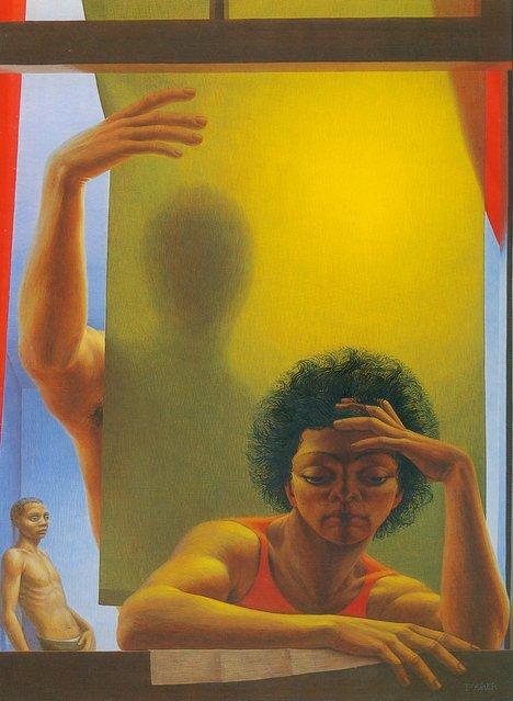 Window I. Artwork by George Tooker
