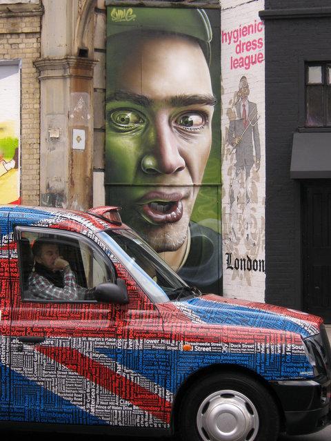 """Smug"", UK. (Photo by Mike Panayi)"