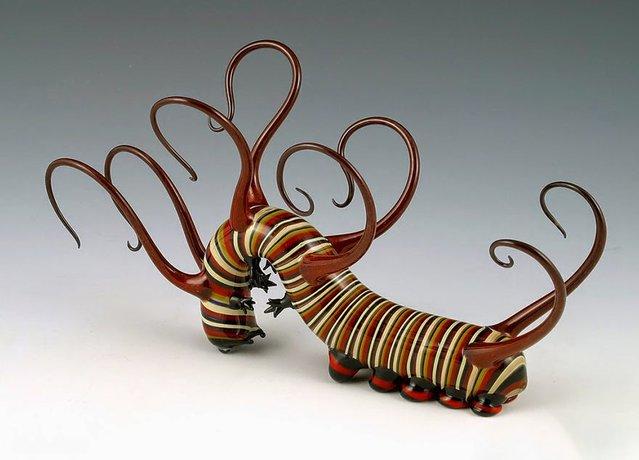Glass Sculpture By Scott Bisson
