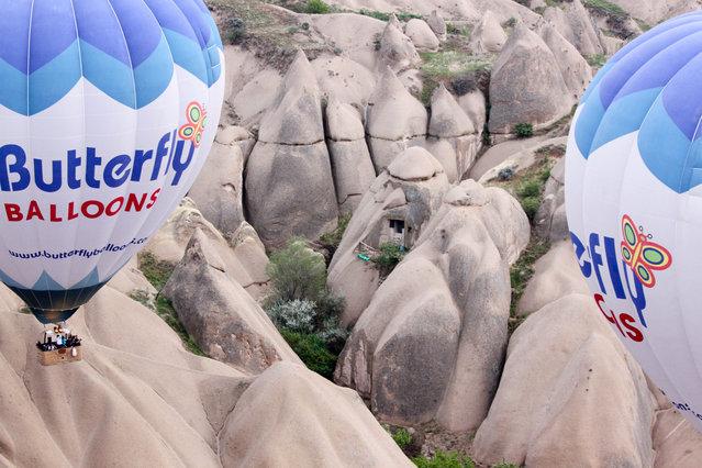 Multi-Level Underground City, Cappadocia, Turkey