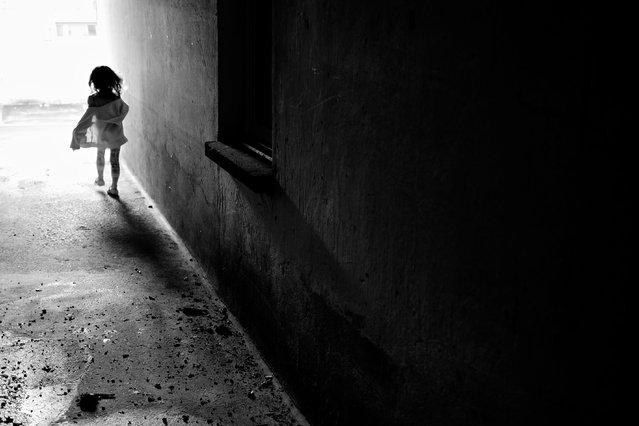 """""""Running into the light..."""". (Thomas Leuthard)"""