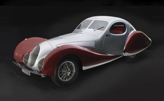 1938 Talbot-Lago T 150C -SS Coupe. Courtesy Bill Marriott. (Photo by Peter Harholdt)