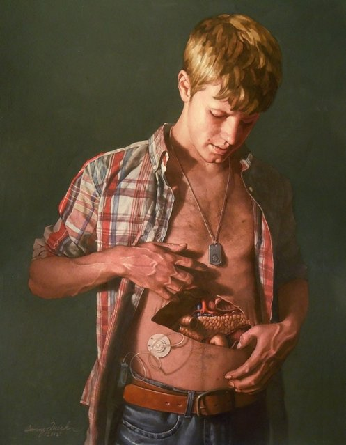 Anatomical Self Dissections By Danny Quirk