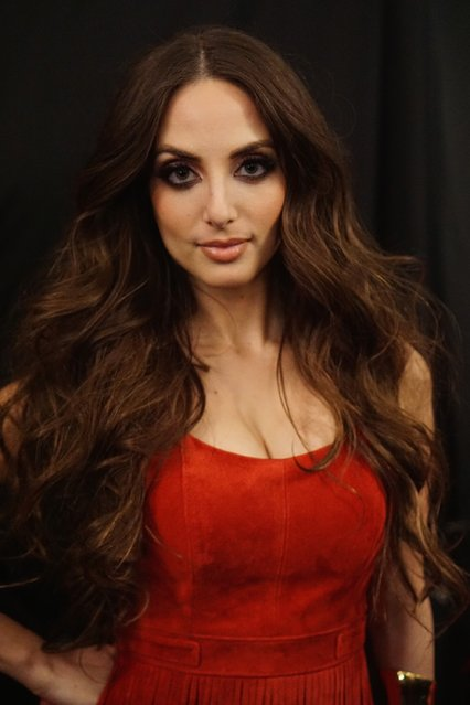 Alexa Ray Joe attends the Go Red For Women Red Dress Collection 2015 presented by Macy'sfashion show during Mercedes-Benz Fashion Week Fall 2015 at Lincoln Center on February 12, 2015 in New York City. (Photo by Mike Coppola/Getty Images for Go Red)