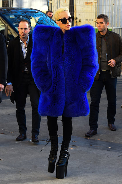Singer Lady Gaga is seen on November 29, 2016 in Paris, France. (Photo by Marc Piasecki/GC Images)