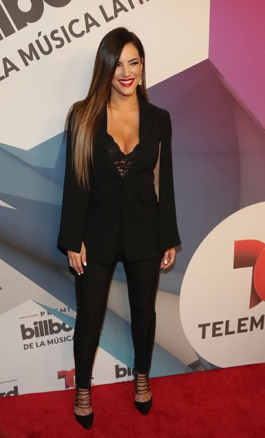Gaby Espino attends 2016 Billboard Latin Music Awards press conferece  at Gibson Guitar Miami Showroom on February 3, 2016 in Miami, Florida. (Photo by Aaron Davidson/Getty Images)