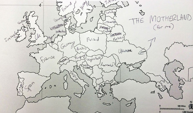 Americans Try To Place European Countries On A Map Part 1