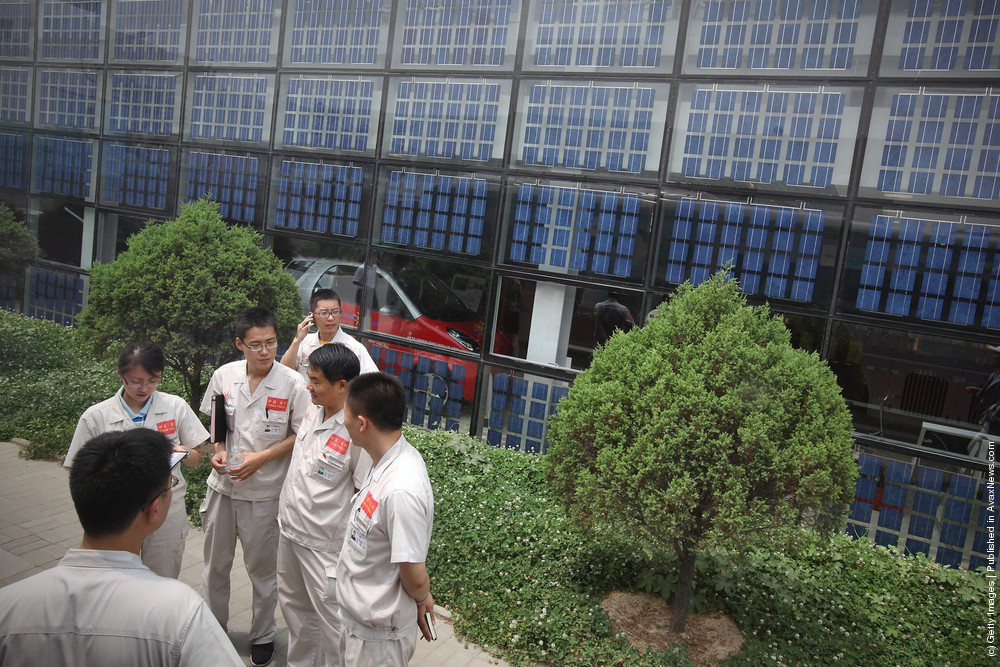 China Strives To Develope New Energy