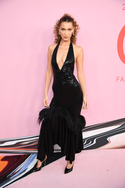 Bella Hadid attends the CFDA Fashion Awards at the Brooklyn Museum of Art on June 03, 2019 in New York City. (Photo by Dimitrios Kambouris/Getty Images)