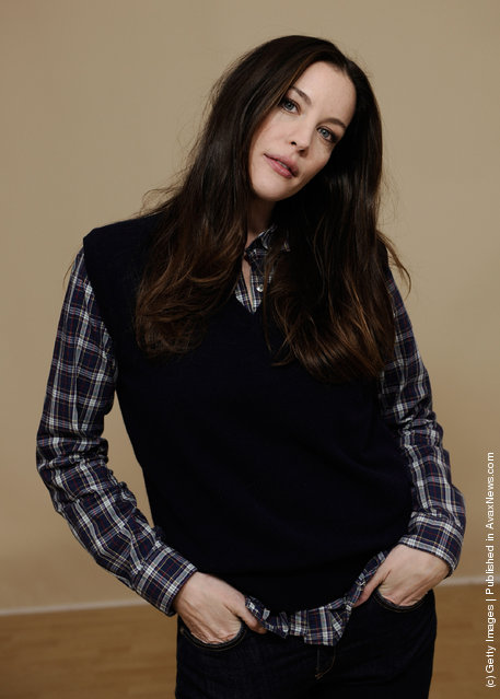 Actress Liv Tyler poses for a portrait during the 2012 Sundance Film Festival at the Getty Images Portrait Studio at T-Mobile Village at the Lift