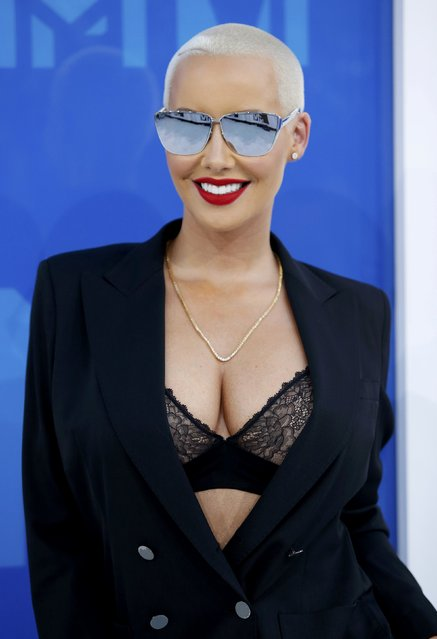Amber Rose arrives at the 2016 MTV Video Music Awards in New York, U.S., August 28, 2016. (Photo by Eduardo Munoz/Reuters)