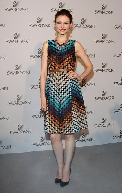 Singer Sophie Ellis Bextor attends the Swarovski Fashionation at Palazzo Reale on June 7, 2011 in Milan, Italy.  (Photo by Vittorio Zunino Celotto)