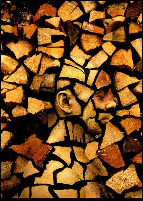 """Woodblock"". (Photo by Johannes Stötter)"