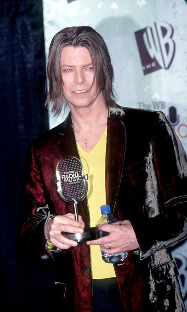 David Bowie at The WB Radio Music Awards, held at the Mandalay Bay Resort & Casino in Las Vegas, NB, on October 28, 1999. (Photo by Brenda Chase/Online USA)