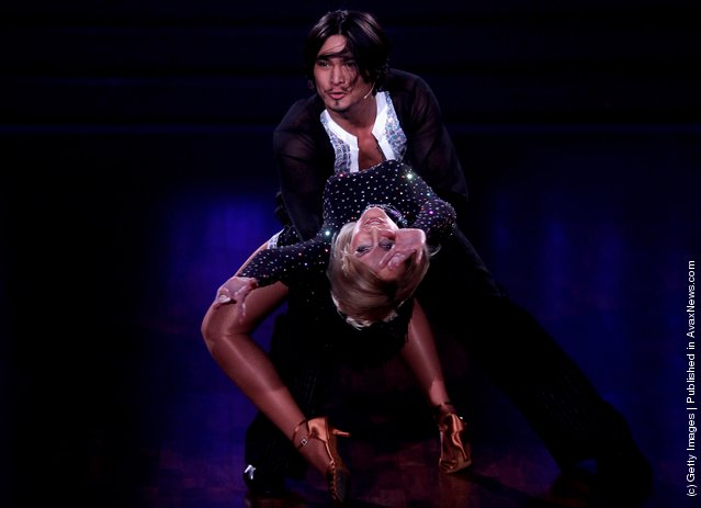 Kristina Bach and Erich Klann