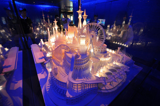 Paper Craft Castle By Wataru Itou