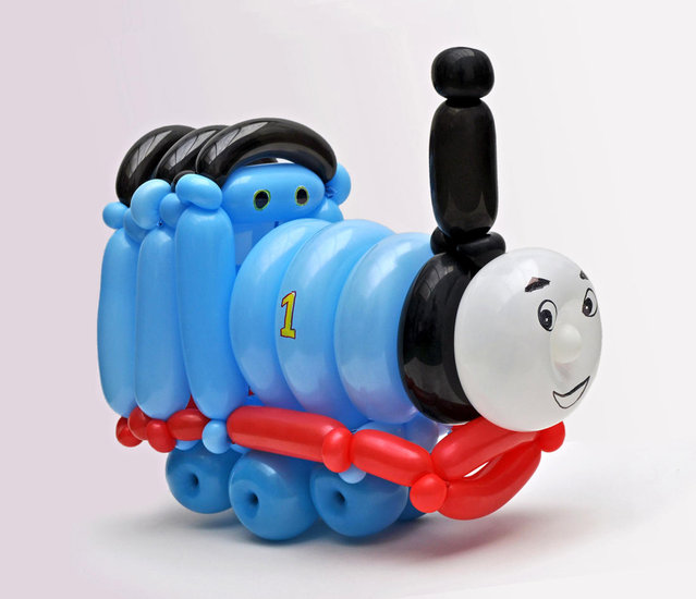 """Thomas the Tank Engine"". (Photo by Rob Driscoll/Caters News Agency)"