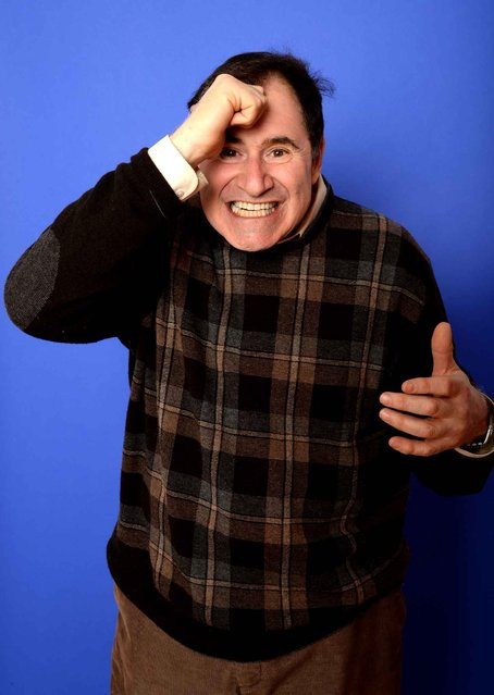 Actor Richard Kind poses for a portrait during the 2014 Sundance Film Festival at the Getty Images Portrait Studio at the Village At The Lift on January 18, 2014 in Park City, Utah. (Photo by Larry Busacca/AFP Photo)