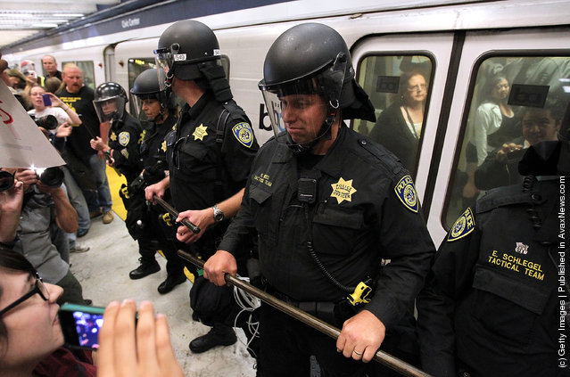 Hacker Group Disrupts Bay Area Mass Transit System