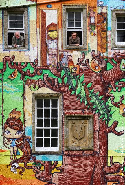 Graffiti At Kelburn Castle