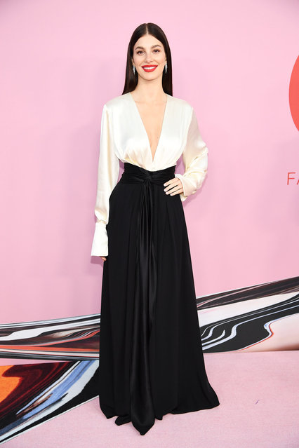 Camila Morrone attends the CFDA Fashion Awards at the Brooklyn Museum of Art on June 03, 2019 in New York City. (Photo by Dimitrios Kambouris/Getty Images)