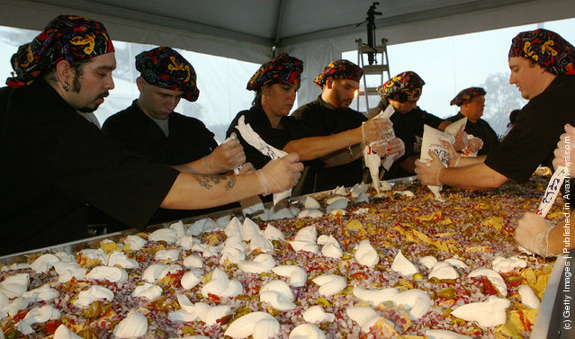 Guinness World Records World's Largest Nachos