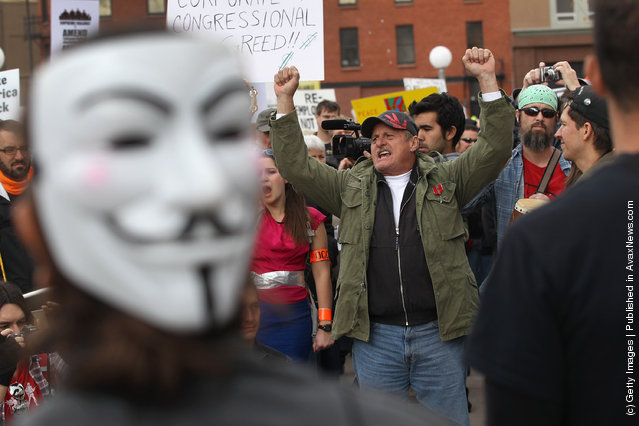 Occupy Denver Protesters Bring Various Activists Groups Together For March