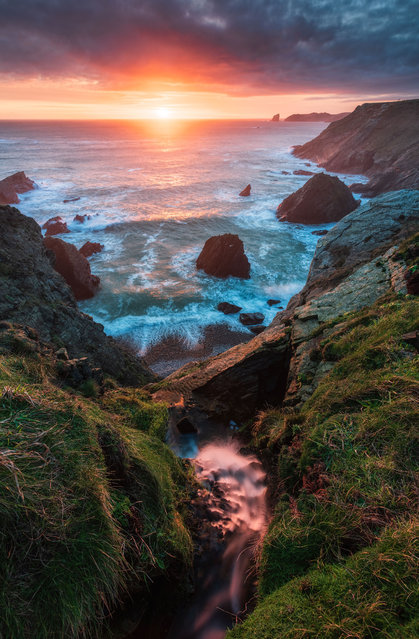 Deadsman Bay, Wales. (Photo by Alessio Putzu/Caters News Agency)