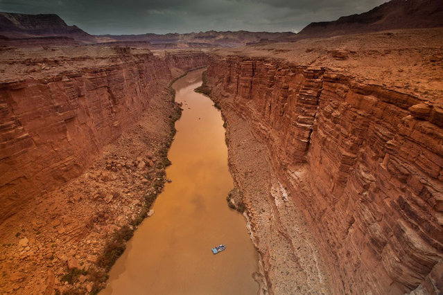 Overlooking the Colorado River's Marble Canyon. (Photo by Matthew Zheng/Smithsonian.com)