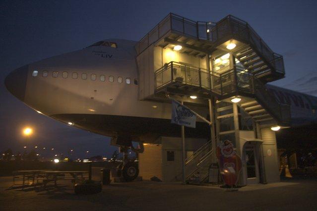 Jumbo Hostel – Arlanda Airport, Stockholm, Sweden