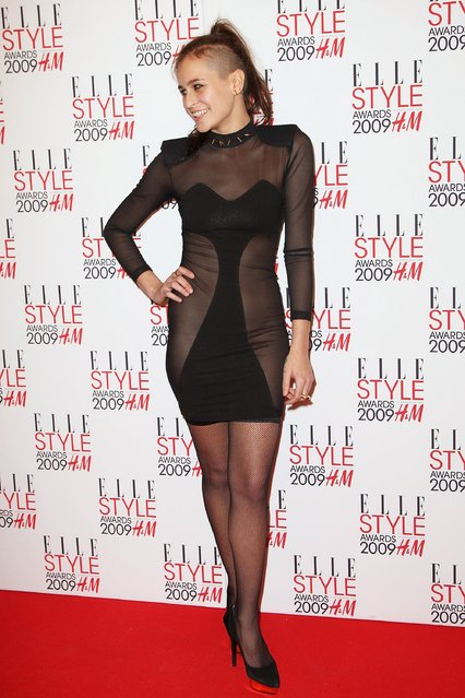 Alice Dellal attends the Elle Style Awards 2009 held at Big Sky Studios, Caledonian Road on February 9, 2009 in London, England.  (Photo by Dave Hogan)