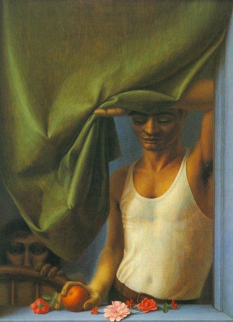 Window II. Artwork by George Tooker