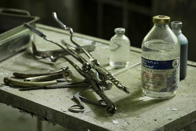 Old surgical equipment. (Photo by Thomas Windisch/Caters News)