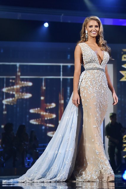 Miss South Carolina Rachel Wyatt appears onstage during the 2017 Miss America Competition - Show at Boardwalk Hall Arena on September 11, 2016 in Atlantic City, New Jersey. (Photo by Michael Loccisano/Getty Images for dcp)