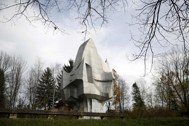 """General view of the memorial monument """"Susnjar"""" in Sanski Most, Bosnia, November 6, 2014. (Photo by Dado Ruvic/Reuters)"""