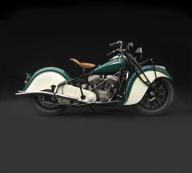 1940 Indian Chief. Collection of Gary Sanford. (Photo by Peter Harholdt)