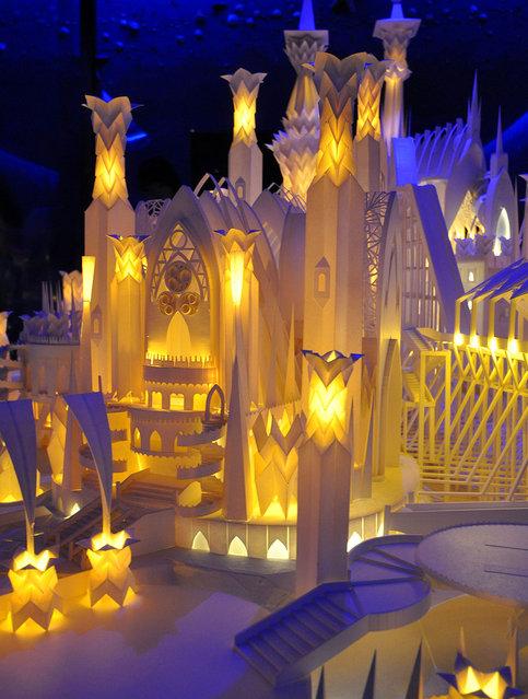 Paper Craft Castle By Wataru Itou