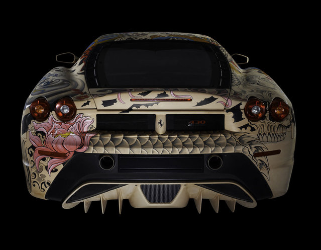 Tattooed Ferrari F430 By Philippe Pasqua