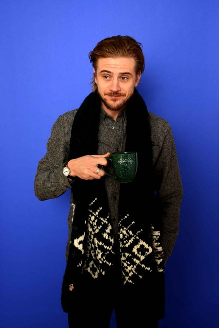 Actor Boyd Holbrook poses for a portrait during the 2014 Sundance Film Festival at the WireImage Portrait Studio at the Village At The Lift on January 21, 2014 in Park City, Utah. (Photo by Larry Busacca/AFP Photo)