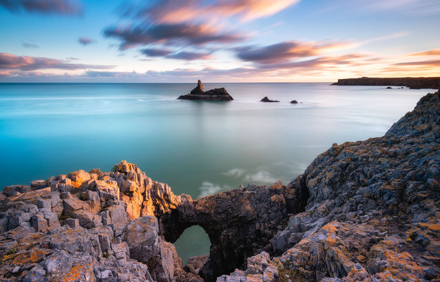Church Rock, Wales. (Photo by Alessio Putzu/Caters News Agency)