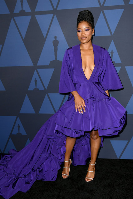Keke Palmer attends the Academy Of Motion Picture Arts And Sciences' 11th Annual Governors Awards at The Ray Dolby Ballroom at Hollywood & Highland Center on October 27, 2019 in Hollywood, California. (Photo by Kevin Winter/Getty Images)