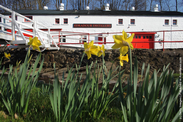 A general view Edradour distillery on March 26, 2012 in Pitlochry, United Kingdom