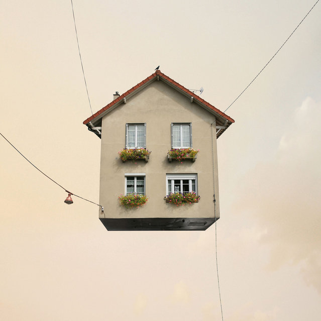 """Laurent Chehere's """"Flying Houses"""": """"Harmony"""". (Photo by Laurent Chehere)"""