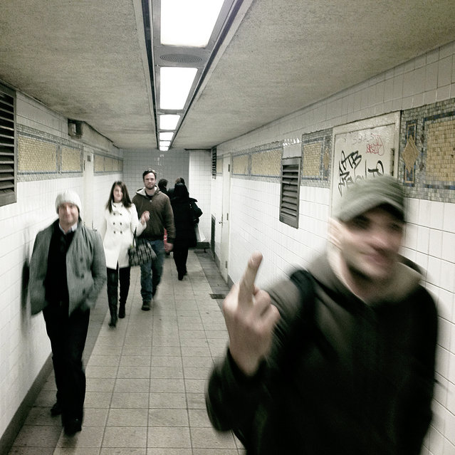 """""""dwwellerzz. New York, 2012"""". (Photo and comment by Joey Angerone)"""