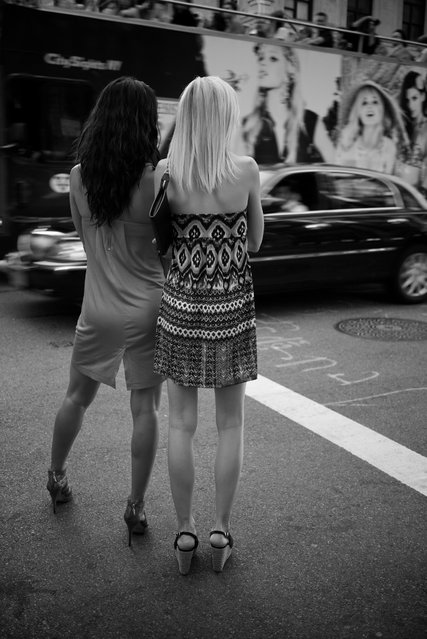 """Sightseeing in New York City"". (Thomas Leuthard)"